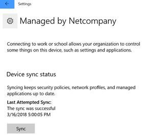 Windows Device Sync