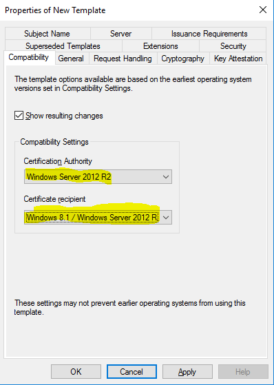 CA User Certificate