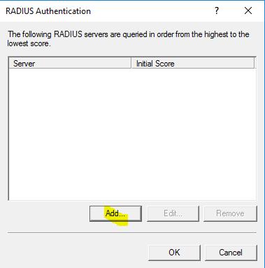 RRAS Configuration
